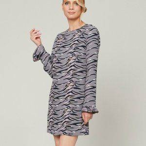 Alice & Trixie Margaux Dress Lavender Tiger Camo